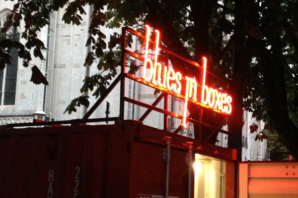 blues in boxes neon 2